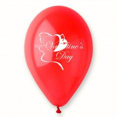 "Baloane latex rosii inscriptionate ""Valentine's Day"", Radar GI.LOVE.RED.T2, Cadouri Valentine`s Day"