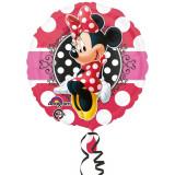 Balon folie 45cm Minnie Mouse Portrait, Amscan 3064701
