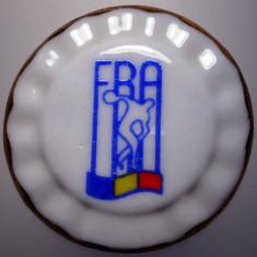 5.178 ROMANIA MEDALIE FRA FEDERATIA ROMANA DE ATLETISM 48mm PORTELAN - Medalii Romania