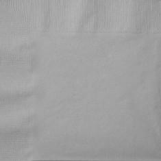 Servetele de masa culoare argintiu pentru petreceri - 33 cm, Radar U33442, Set 50 buc