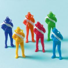 Figurine Parasutisti, Multicolore, Amscan 390201, Set 12 buc