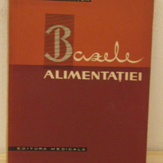 BAZELE ALIMENTATIEI -IANCU GONTEA