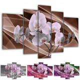Tablou multicanvas flori de orhidee model BM7515