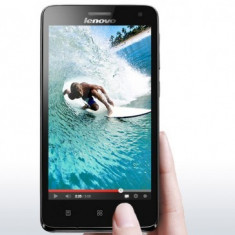 Telefon Dual Sim Lenovo S660 - Telefon mobil Lenovo, Negru, 8GB, Neblocat, Quad core, 1 GB