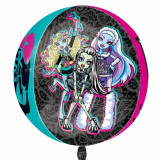 Balon folie sfera 3D Monster High - 38x40cm, Amscan 28396