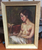 Tablou nud scoala italiana A TORRO