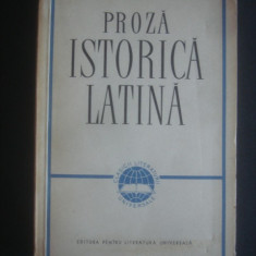 PROZA ISTORICA LATINA * CAESAR, SALLUSTIUS, LIVIUS, CURTIUS, TACITUS, SUETONIUS
