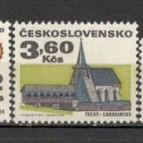 Cehoslovacia.1971 Cladiri istorice  CC.340, Nestampilat