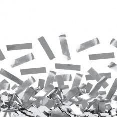 Confetti dreptunghiulare argintii din folie pentru petreceri, Radar SPC.F.SR