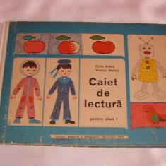 Caiet de lectura pentru clasa I (Editura didactica si pedagogica-Bucuresti, 1974)