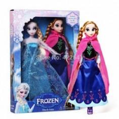 Set papusi muzicale Disney-Frozen Anna si Elsa.