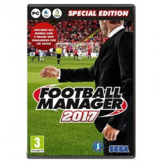 Football Manager 2017 Pc - Jocuri PC Sega, Simulatoare, 3+
