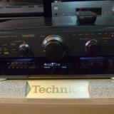 Amplituner Technics SA-AX6 Bi-Amp, RDS, telecomanda, poze reale - Amplificator audio Technics, 81-120W