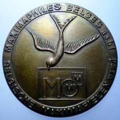 B.393 BELGIA MEDALIE BRUXELLES MAXIMAFILIE 1973 44mm, Europa