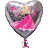 Balon folie 45cm inima Barbie Love, Amscan 1903401