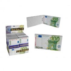 Carnetel forma bancnota 100 Euro, Radar 29/2990, 1 buc