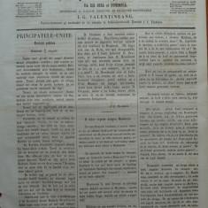 Reforma, ziar politicu, juditiaru si litteraru, an 2, nr. 45, 1860