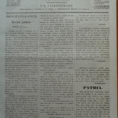 Reforma, ziar politicu, juditiaru si litteraru, an 2, nr. 35, 1860