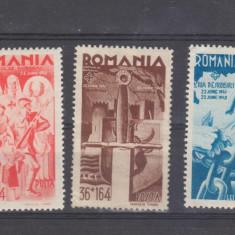 Romania 1943 Consiliul de patronaj nestampilate - Timbre Romania, Oameni