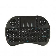 Mini tastatura wireless android smart tv raspberry windows, Fara fir