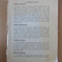 SANDA MARIN- CARTE DE BUCATE- EDITIE VECHE INTERBELICA, LIPSESC PAGINI+COPERTA - Carte Retete traditionale romanesti