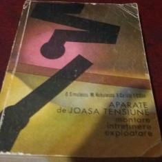 D SIMULESCU - APARATE DE JOASA TENSIUNE
