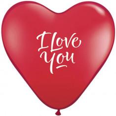 Baloane latex inima 6