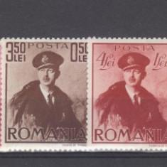 Romania 1940 Carol cu pelerina MNH - Timbre Romania, Regi, Nestampilat