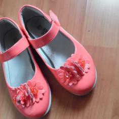 Pantofi copii fete, aproape noi, masura 27, Bear Bobby, Culoare: Corai