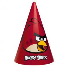 Coif petrecere copii cu Angry Birds, Amscan 250153, Set 6 coifuri - Costum petrecere copii