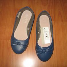 Pantofi copii fete, masura 32, NOI, albastru.