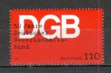 Germania.1999 50 ani Federatiile Sindicale  SG.1007, Nestampilat