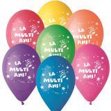 """Baloane latex asortate inscriptionate """"La multi ani!"""", Radar GI.LMA.T2"""