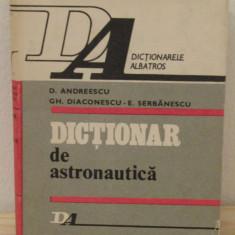 DICTIONAR DE ASTRONAUTICA - Carte Astronomie