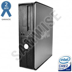 Calculator Intel Core 2 Quad Q6600 2.4GHz 4GB DDR2 160GB DVD...GARANTIE 2 ANI ! - Sisteme desktop fara monitor Dell, 2501-3000Mhz, 200-499 GB, LGA775