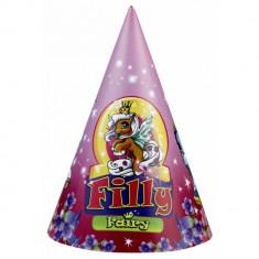 Coif petrecere copii cu Filly Fairy, Amscan 250126, Set 6 coifuri - Costum petrecere copii