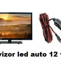 Televizor Tv auto LED HD 48cm 12v Auto Rulota Camion Tir Camping