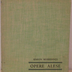 OPERE ALESE -SIMION MEHEDINTI - Carte Geografie