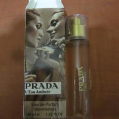 PARFUM 40 ML PRADA L'EAU AMBRE --SUPER PRET, SUPER CALITATE! - Parfum femeie Prada, Apa de parfum