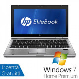 Laptop HP EliteBook 2560P, Intel Core i5-2410M 2.30GHz, 4GB DDR3, 250GB SATA, DVD-RW + Windows 7 Home Premium