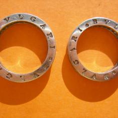 DOUA INELE ARGINT BVLGARI - Inel argint
