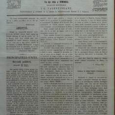 Reforma, ziar politicu, juditiaru si litteraru, an 2, nr. 38, 1860