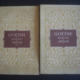 JOHANN WOLFGANG - DIN VIATA MEA POEZIE SI ADEVAR 2 volume