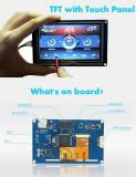 """Ecran display 2.8"""" NEXTION XD HMI USART GPU serial cu Touch screen"""
