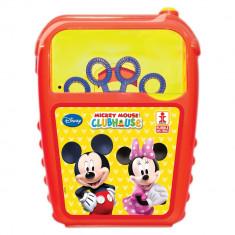 Masina de baloane de sapun cu Mickey Mouse, Dulcop 130500, 1 buc