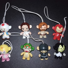 Surprize KINDER lot 8 figurine Twistheads 2013 si 2016 surpriza ou jucarii - Surpriza Kinder