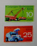 "Serie ""Targul de la Leipzig"" -DDR, 1974"