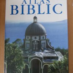 ATLAS BIBLIC, 2005, FORMAT MARE, CARTONATA - Carti ortodoxe