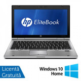 Laptop HP EliteBook 2560P, Intel Core i5-2410M 2.30GHz, 4GB DDR3, 250GB SATA, DVD-RW + Windows 10 Home
