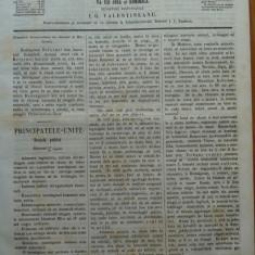 Reforma, ziar politicu, juditiaru si litteraru, an 2, nr. 42, 1860